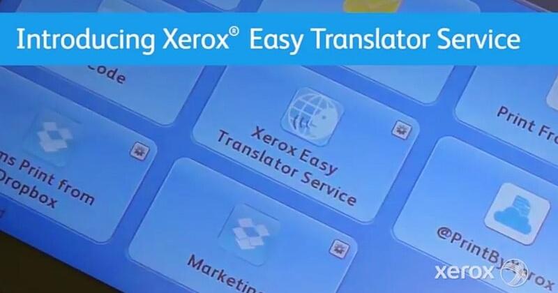 xerox szövegfordító